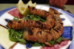 Stigghiola, Уличная еда Палермо, Уличная еда Сиракузы, Уличная еда Сицилия