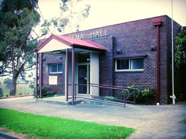 Bena Hall - Front Entrance