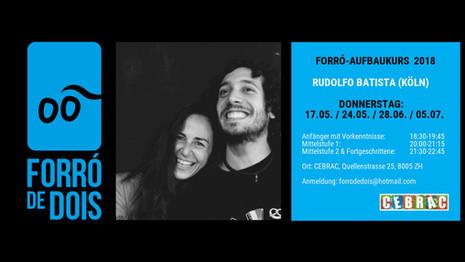 Curso de Forró, quintas feiras - no Cebrac
