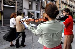 Sidewalk Musicians, Naples, Italy.jpg