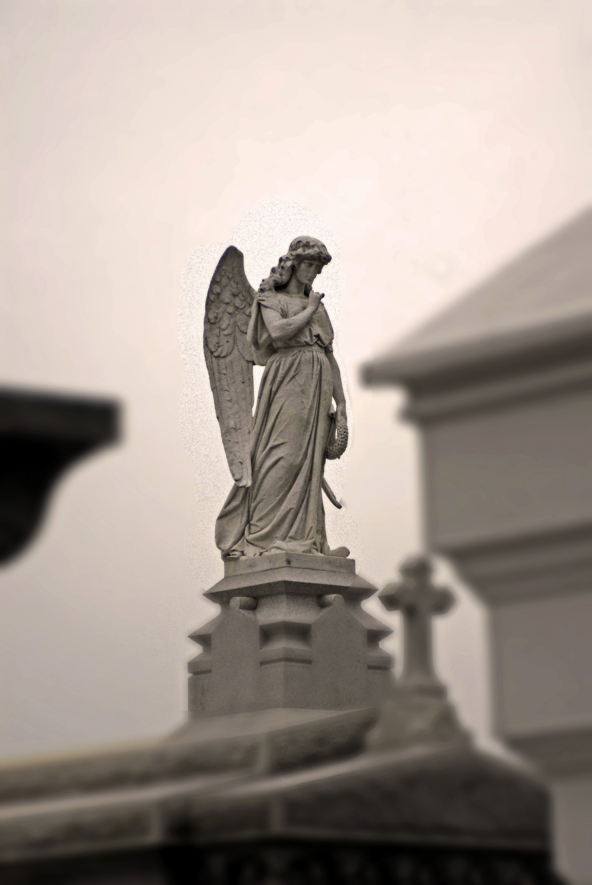 Cemetery Statuary, New Orleans, Louisiana.jpg