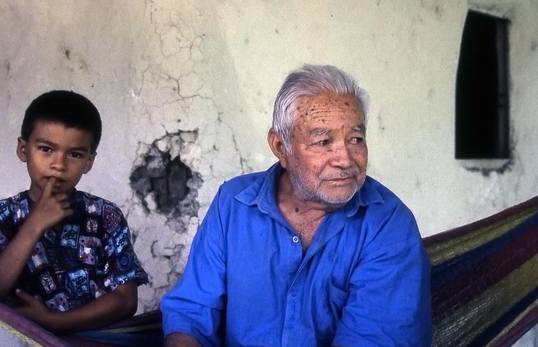 Ferdinand Moya and Grandson, Honduras.jpg