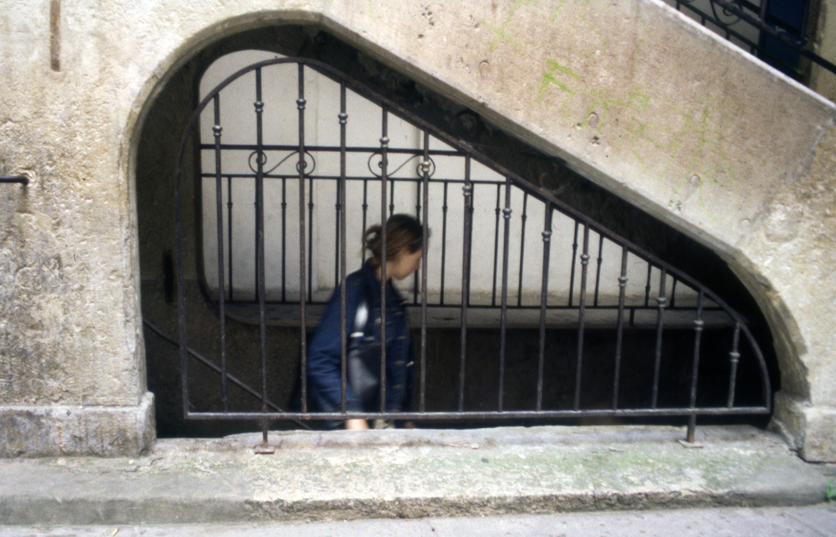 Stairway, Avignon, France.jpg