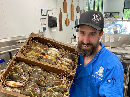 Soft Shell Crabs are in this weekend!