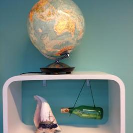 """Udsmykning """"Bådens Udviklingsrejse"""""""