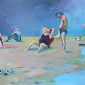 this summer - people talking, II
