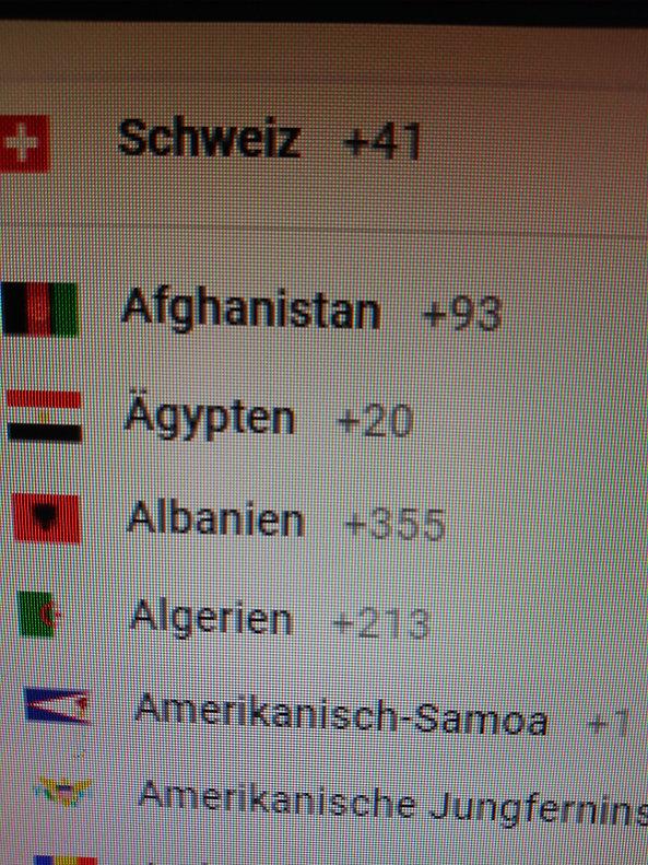 COUNTRIES-2-FLAGS-PHONE CODES-GILLS- JUN