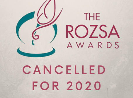 Rozsa Awards Cancelled for 2020