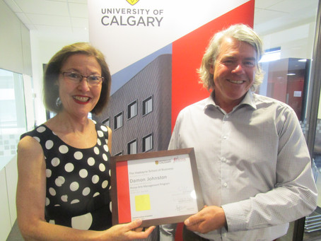 Board Members attend RAMP Graduates' ALP presentations