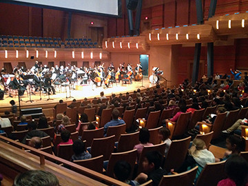 The Orchestra Rocks: CPO Education Concerts energize and inspire​
