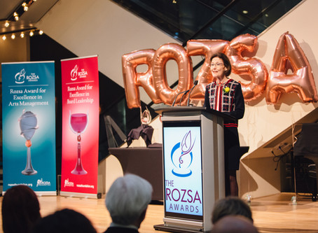 Call for Nomination for 2020 Rozsa Awards
