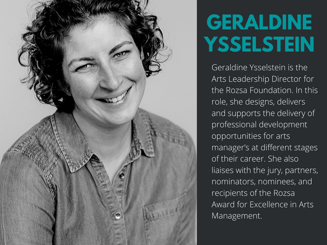 REAL Faculty, Geraldine Ysselstein