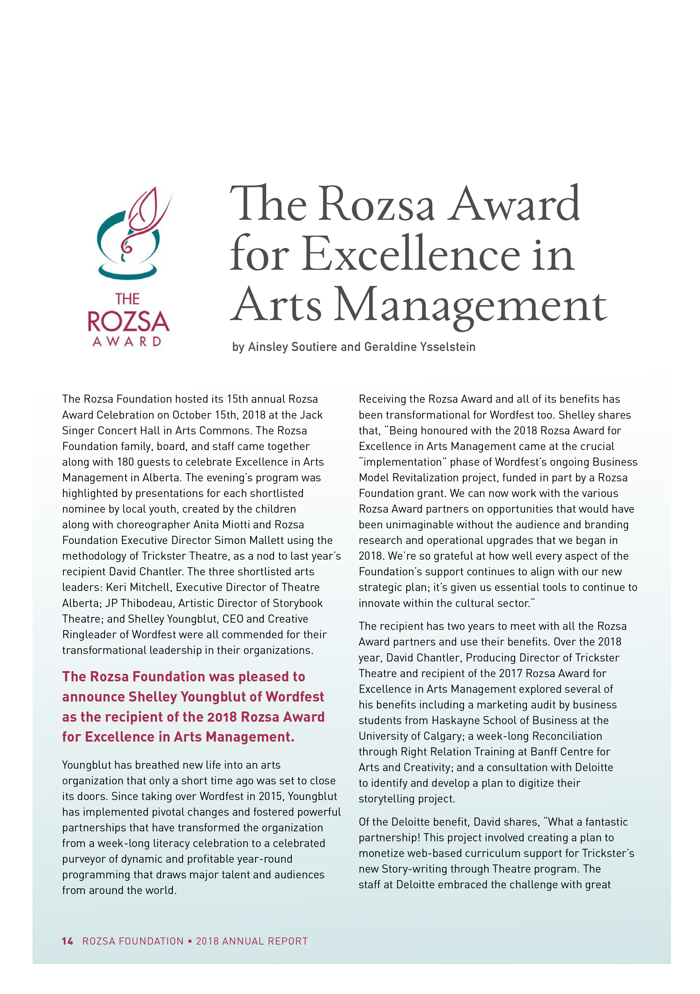 2018 Rozsa Foundation Annual Report-16