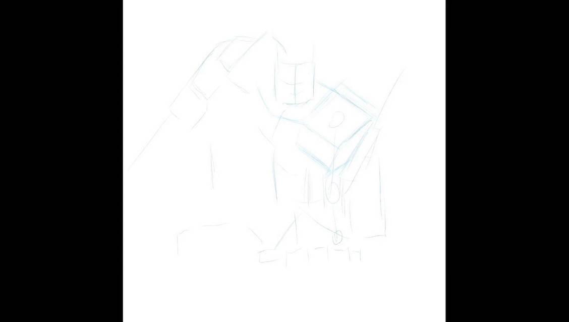 Optimus Prime speed draw vid