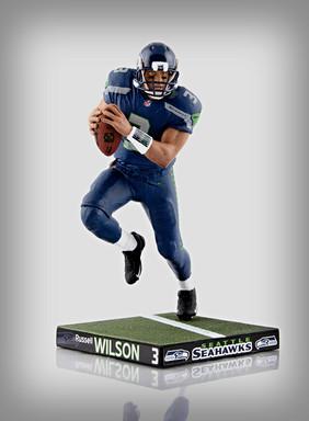 Russell Wilson Custom Sports Figure