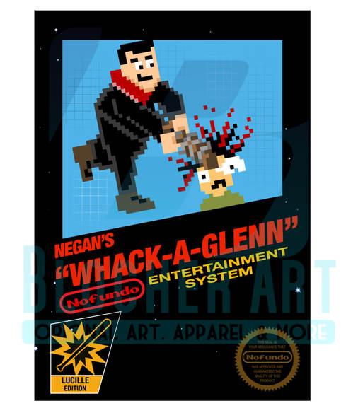 """Walking Dead """" Negan's Whack a Glenn"""""""