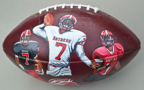 Personalized H.S. Football
