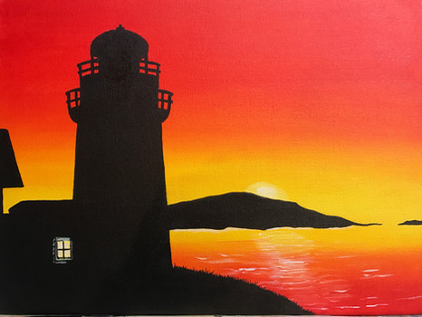 """Summer Lighthouse"""