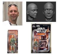 Custom 3.5 inch Star Wars Figure with 3d