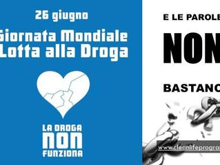 Giornata mondiale contro la Droga. Liberi in 45 giorni.