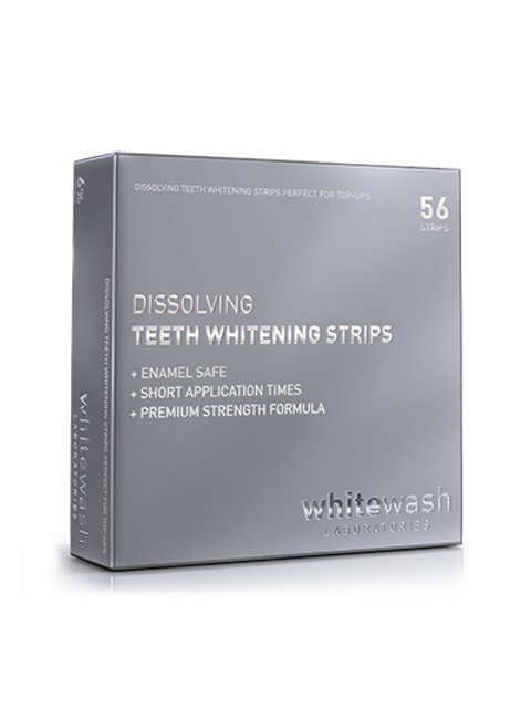 WhiteWash Dissolving Teeth Whitening Strips (56 Strips)