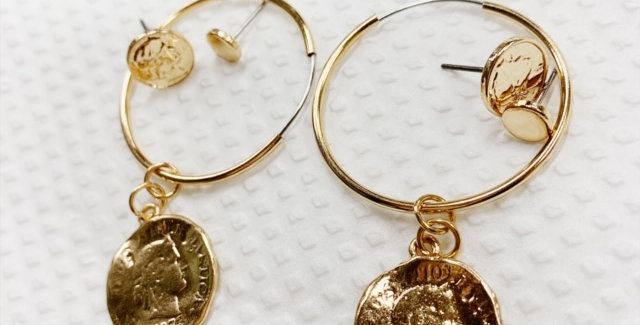 Penny For Your Thoughts Earring Set