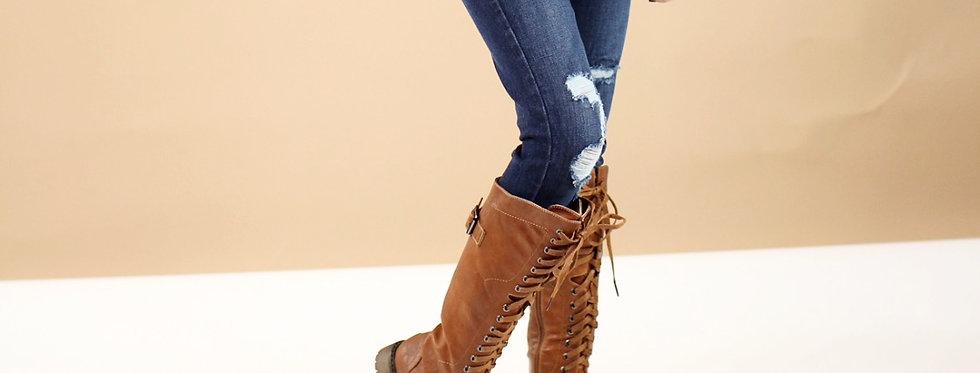 Salem Lace Up Boot