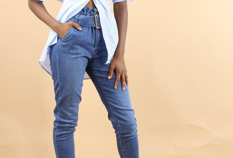 Naomi Paperbag Waist Jean