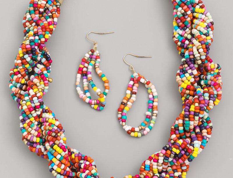 Fruity Tutty | Necklace & Earring Set