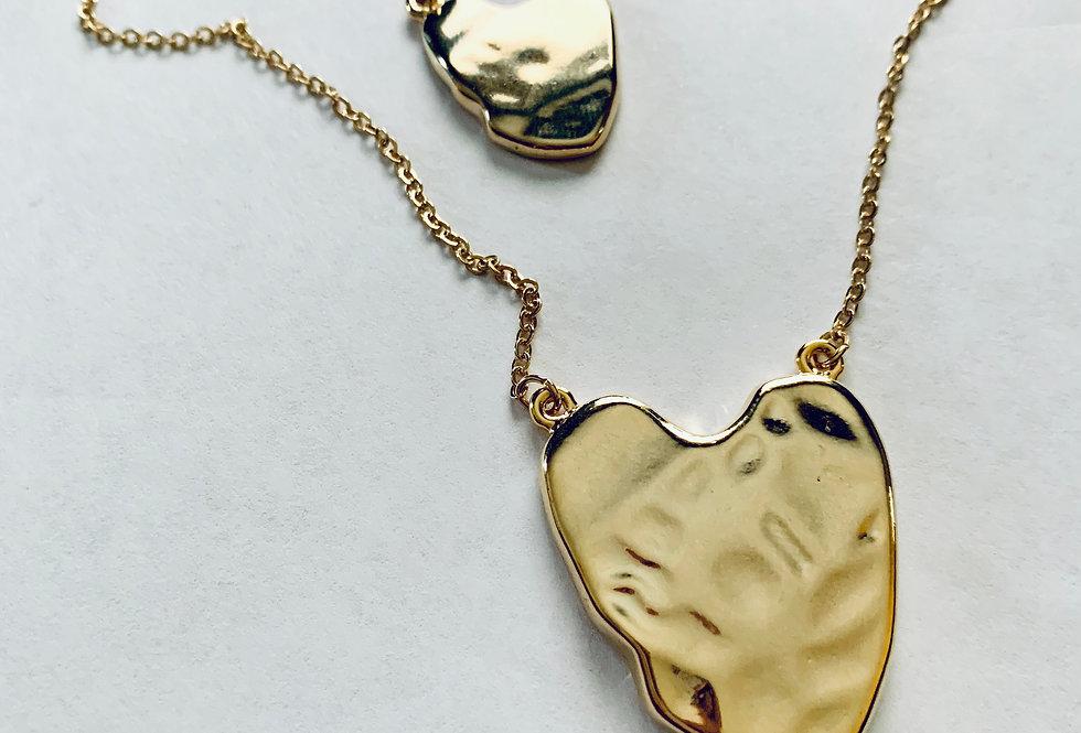Heart 2 Heart Charm Necklace