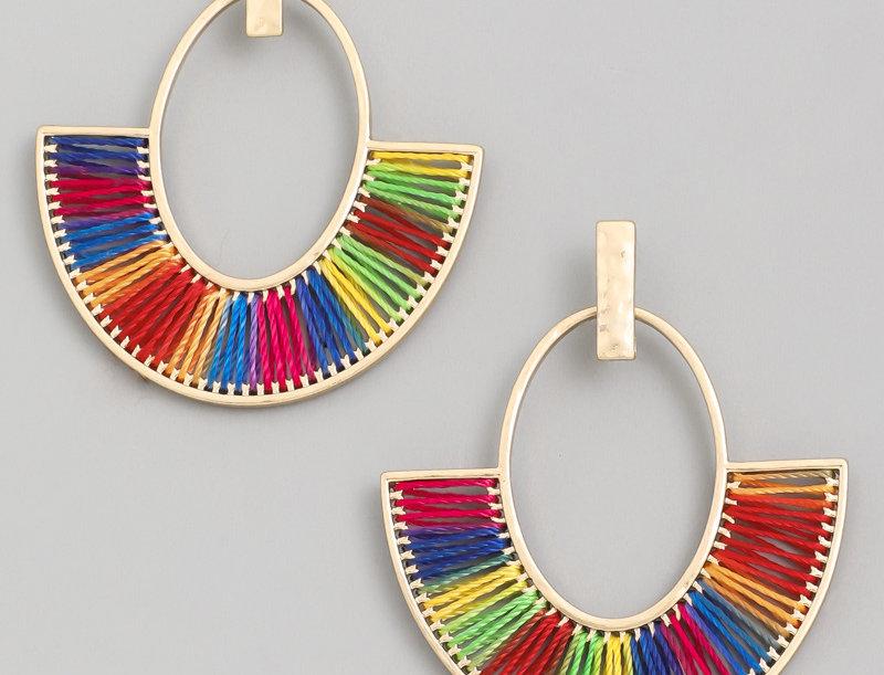 Fan Fare Earrings