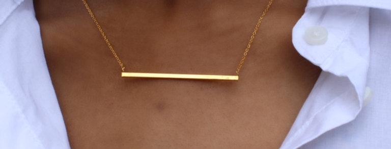 Bar Love Necklace