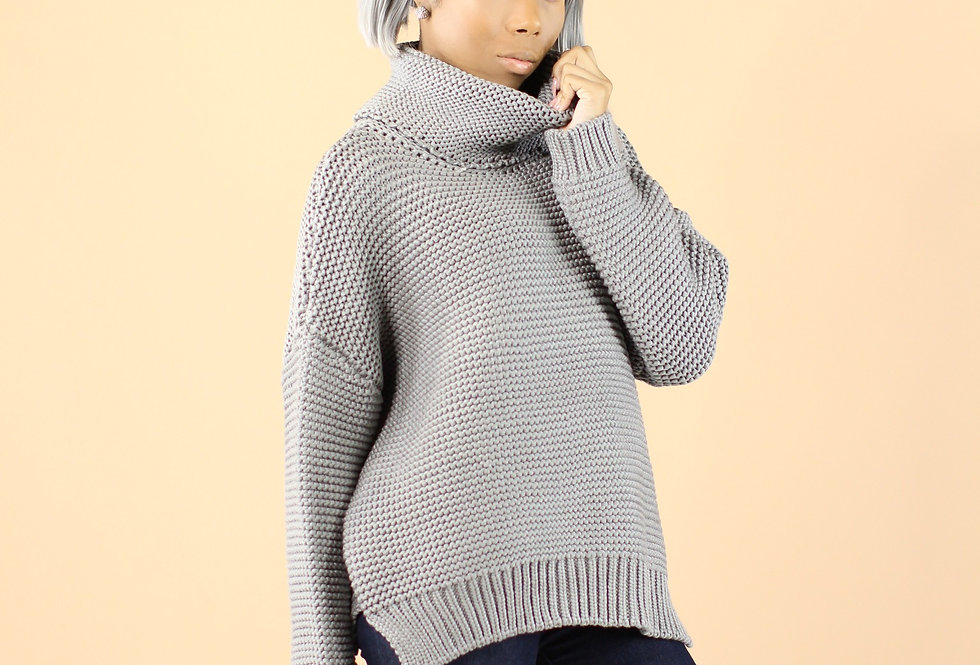 Jagger Cable Knit Sweater