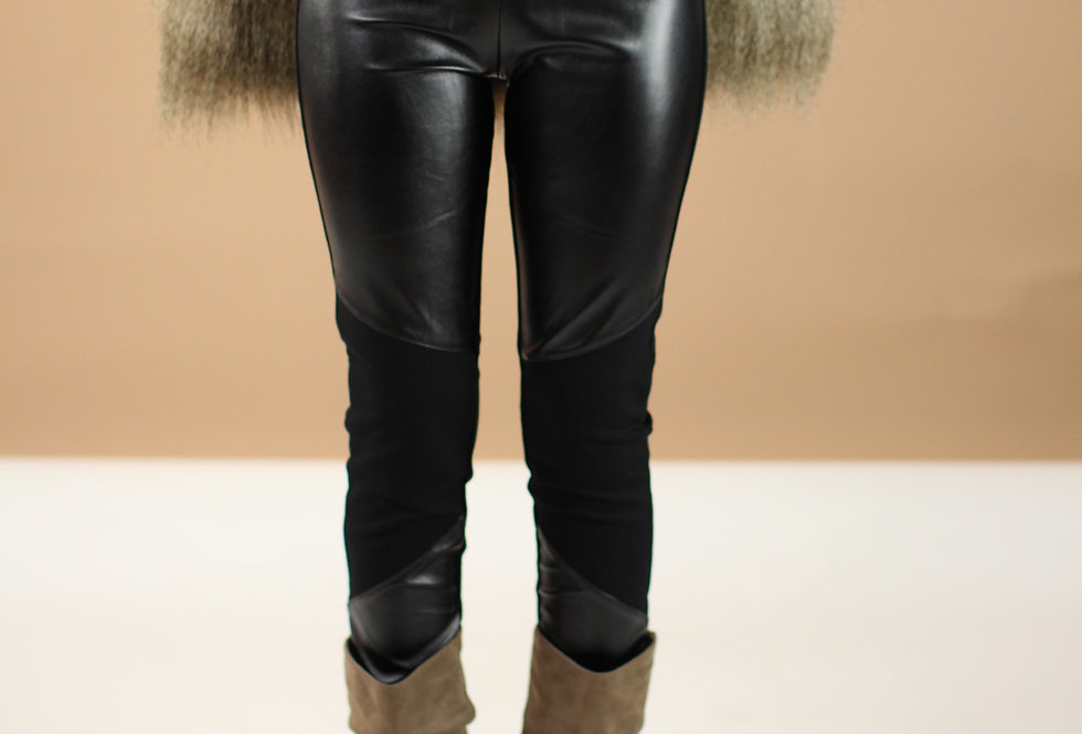 Evelyn Leather Leggings