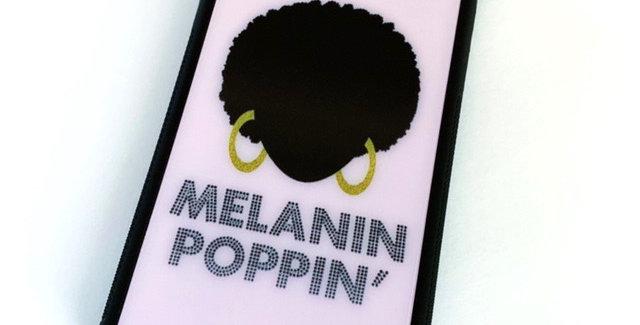 Melanin Poppin' - iPhone Case