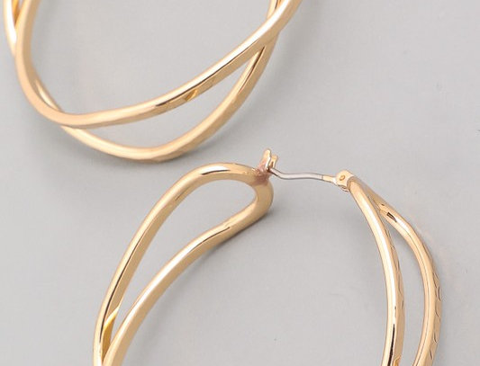 Double Twist Earring