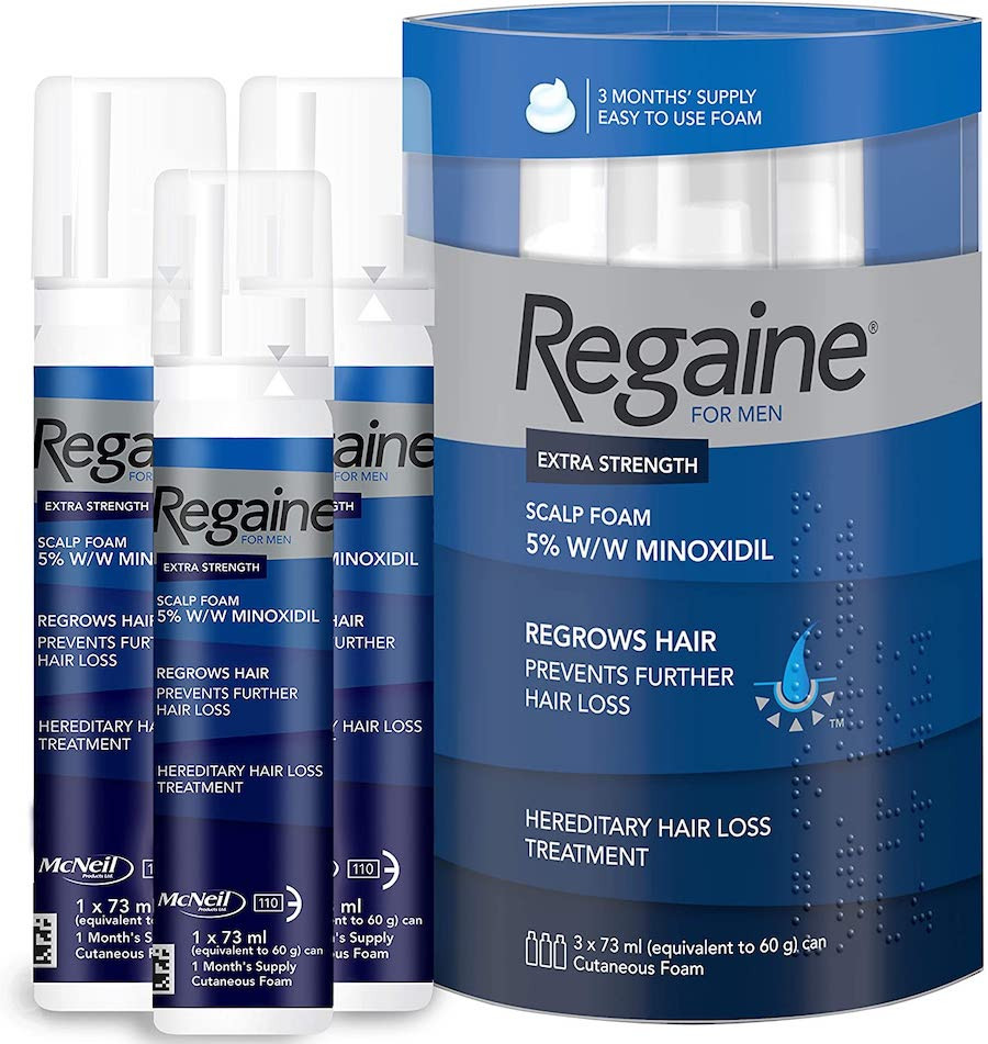 Regaine and Rogaine