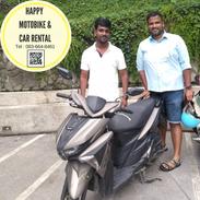 rent a bike udonthani