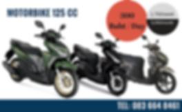 motocycle rent udon