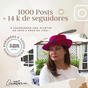 1000 Posts +14k de seguidores