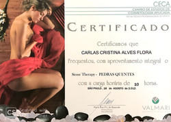 Carlas Flora - Certificados