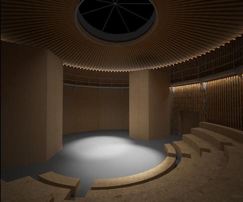 160618 SAT papaer theatre interior night