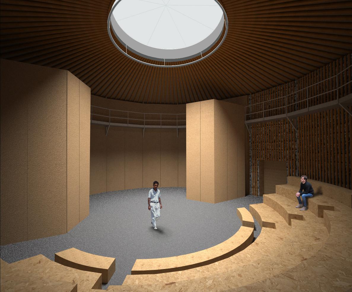 160618 SAT paper theatre interior daylig