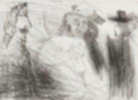 Picasso_Pablo,_Peintre,_Modèle_Au_Chapea