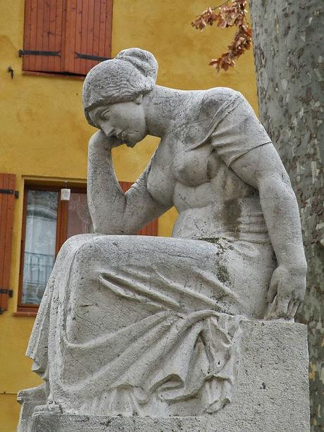 アリステッド・マイヨール 《悲しみ》、1922年.png