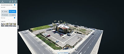 Aerial point cloud image