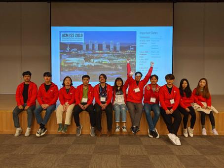 ISS 2019 Student Volunteer