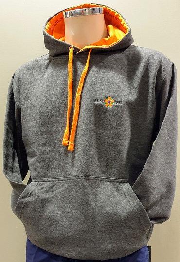 Hooded Sweatshirt - Charcoal Grey