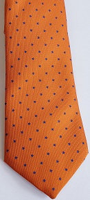 Dress Tie - orange