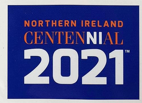 CentenNIal Blue Vinyl Sticker